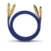 Цены на 2RCA  -  2RCA межблочный кабель OEHLBACH 2028 0.5 м