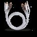 Цены на 2RCA  -  2RCA межблочный кабель OEHLBACH 2601 1.0 м