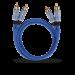 Цены на 2RCA  -  2RCA межблочный кабель OEHLBACH 2701 1.0 м