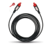 Цены на Цифровой оптический кабель OEHLBACH Red Opto Star 4.0 м (6006)   Оптический цифровой аудиокабель,   оснащенный двумя металлическими штекерами TOSLINK. Инновационный дизайн цифрового кабеля,   содержащего ультрачистые оптоволоконные проводники,   обеспечива
