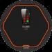 Цены на Робот - пылесос iClebo Arte Carbon Карбон – цвет,   придающий статус и эксклюзив. Робот - пылесос в данном цветовом решении подойдет для любого современного интерьера. Глянцевая крышка с оранжевой окантовкой помогает сделать оттенок еще более глубоким и насыщен