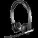 Цены на Гарнитура Logitech H820e Wireless Headset Dual,   981 - 000517 Максимальный комфорт при длительном ношении и надежная беспроводная связь корпоративного уровня по технологии DECT значительно повышают производительность труда. Кнопка отключения звука удобно рас