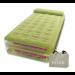 Цены на Intex Кровать Take Along,   Twin с насосом 67716 Надувной матрас - кровать Take Along Bed от производителя Intex имеет качественную ортопедическую конструкцию с подголовником,   изготовленную из прочного ПВХ. Верхнее покрытие выполнено из мягкого флокированного