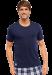 Цены на Стильная и удобная мужская футболка из хлопка SCHIESSER 146856шис Синий SCHIESSER  -  Подойдет для людей с чувствительной кожей  -  Ткань отлично впитывает влагу  -  Замечательно «держит форму» после стирок Элегантная мужская футболка от бренда Schiesser насыще