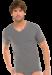 Цены на Модная мужская футболка из хлопка серого цвета SCHIESSER 205429шис Серый SCHIESSER  -  Футболка мягкого серого цвета  -  V - образный вырез горловины  -  Стирать в режиме «деликатная стирка» либо вручную Мягкая,   уютная модель футболки от компании Schiesser наверн