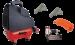 Цены на Fubag Wood master kit Рабочее давление  -  8,   Напряжение питания  -  220,   Мощность  -  1.1,   Привод  -  Коаксиальный,   Вес  -  12,   Производительность  -  180,   Габариты (ДхШхВ)  -  400х230х370,   Объем ресивера  -  6,   Комплектация  -  Спиральный шланг,   Тип  -  Поршневой,   Двигател