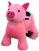 Цены на Joy Automatic Детский зоомобиль с аккумулятором Поросенок Пигги. Забавная игрушка,   которую покупают и для личного использования,   и в коммерческих целях.Зоомобиль Joy Automatic имеет не только оигинальный,   привлекающий детское внимание внешний вид,   но и мо