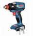 Цены на Гайковерт аккумуляторный Bosch GDX 18 V - EC (6019B9102) Bosch GDX 18 V - EC 4.0Ah x2 L - BOXXделает производитель bosch,   назначение гайковерт,   наличие удара