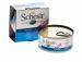 Цены на Schesir Консервы Schesir для щенков 150 г (150 г,   Тунец и алоэ) Консервы для щенков Schesir — это повседневный,   полностью сбалансированный корм для щенков. Содержит все необходимые питательные вещества,   белки,   минеральные вещества,   витамины и другие компо