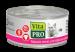 Цены на Vita Pro Консервы Vita Pro мясное меню для кошек (100 г,   Индейка с уткой) Корм НЕ СОДЕРЖИТ: формованных изделий из мясного фарша костной муки заменителей животного белка,   например,   сои искусственных красителей усилителей вкуса искусственных ароматизаторов