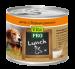 Цены на Vita Pro Консервы Vita Pro Lunch для взрослых собак (400 г,   Ягненок и курица с картофелем) Полнорационный консервированный корм для взрослых собак. Мясные рецепты с фруктами,   овощами и рисом. Вся продукция изготавливается только из натуральных высококачес