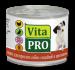 Цены на Vita Pro Консервы Vita Pro мясное меню для взрослых собак (200 г,   с Ягненком) Полнорационный консервированный корм для взрослых собак. Вся продукция изготавливается только из натуральных высококачественных ингредиентов. Корм не содержит: формованных издел