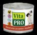 Цены на Vita Pro Консервы Vita Pro мясное меню для щенков (200 г,   с Индейкой) Полнорационный консервированный корм для щенков. Вся продукция изготавливается только из натуральных высококачественных ингредиентов. Корм не содержит: формованных изделий из мясного фа
