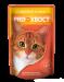 Цены на ProХвост Паучи ProХвост в соусе для кошек (85 г,   Индейка) Консервированный корм ProХвост  -  полнорационное сбалансированное питание. Разработан с учетом всех питательных потребностей взрослых кошек. Содержит высококачественные натуральные ингредиенты,   белк
