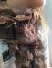 Цены на Шарф 010221 Шарф сезона весна  -  осень 2016. Шарф цвет темный шоколад. Шарф яркий и прекрасно смотрится и украшает его обладателя. Шарф имеет резиночку посредине,   что видно на фото,   размер указан без натяжения резинки. Размер 20х95 Состав: 60% полиэстр 40%