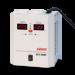 Цены на Powerman AVS 1000P Максимальная выходная мощность 1000 ВА Эффективная мощность 500 Вт Входное напряжение 90  -  275 В Количество розеток 2 шт. Powerman AVS 1000P