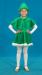 Цены на Костюмы Костюм Костюмы Елочка 010 Забавный карнавальный костюм «Елочка» для девочки 4 - 9 лет. Костюм изготовлен из мягкого и гладкого искусственного меха ярко - зеленого цвета. Изнаночная сторона довольно грубая на ощупь. Состоит костюм Елочки из юбки,   пелер
