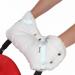 Цены на BamBola Муфта BamBola для коляски шерстяной мех + плащевка + кнопки Белая 053В BAMBOLA Муфта для коляски шерстяной мех + плащевка + кнопки Муфта на ручку коляски очень легко одевается и защищает ваши руки от холода. Ткань муфты водоотталкивающая,   она утеплена мех