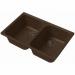Цены на GRANFEST (ECO) Кухонная мойка GRANFEST (ECO) ECO - 15 терракот Тип: мойка кухонная Материал: искусственный мрамор Форма: прямоугольная Ширина мойки: 740 мм Длина мойки: 490 мм Глубина мойки : 200 мм Установка: встраиваемая сверху Число основных чаш: 2 Крыло