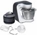 Цены на Bosch Кухонный комбайн Bosch MUM 54A00 Мощность 900 Вт Kоличество скоростей: 7,   импульсный режим Насадкинасадка для теста,   насадка для взбивания общее число насадок: 3 Защита от перегрузки Исполнение чаша: нерж. сталь Место для хранения насадок Прорезинен