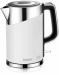 Цены на BBK Электрочайник BBK EK1750P белый Тип: Электрочайник Объем чайника (л) 1.7 Индикатор уровня воды да Покрытие нагревательного элемента нержавеющая сталь Мощность (Вт) 2200 Блокировка включения без воды нет Автоматическое отключение при вскипании да Автом