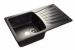 Цены на GranFest Кухонная мойка GranFest STANDART S - 850L черный Тип: мойка кухонная Материал: искусственный мрамор Форма: прямоугольная Ширина мойки: 850 мм Длина мойки: 495 мм Глубина мойки : 200 мм Установка: встраиваемая сверху Число основных чаш: 1 Крыло: ест