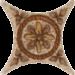 ���� �� ������������ ������ Azulev Estrella Rialto Beige ������� 6,  7x6,  7