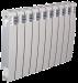Цены на Секционный биметаллический радиатор Elegance Wave Bimetallico 350 \  05 cекций \  Элеганс Вэйв 350