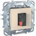 Цены на Аудио розетка Schneider Electric UNICA бежевая MGU5.486.25ZD
