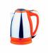 Цены на JARKOFF JARKOFF JK - 200Y Тип чайник Объем 1.8 л Мощность 1850 Вт Тип нагревательного элемента закрытая спираль Корпус: нержавеющая сталь + оранжевый пластик