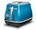 Цены на Delonghi Delonghi CTO 2003 B тостер на 2 тоста мощность 900 Вт механическое управление функция обжаривания с одной стороны функция размораживания металлический прочный корпус