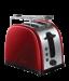 Цены на Russell Hobbs Russell Hobbs 21291 - 56 Тостер Мощность 1300 Вт Механическое управление 2 отделения 6 режимов поджаривания Решетка для разогрева Экстра широкие слоты Функция центрирования Функция разморозки и отмены программы