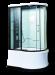 Цены на Душевая кабина LanMeng (ЛанМенг) LM836TG ассиметричная с ванной,   с глубоким поддоном (высокая),   размер 120х85 см 120х85х213 см Современный дизайн,   мощное ударопрочное стекло,   надежный поддон с антискольжением,   удобное сиденье. LanMengLM836TG  -  это закрыта