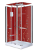 Цены на Душевая кабина LanMeng (ЛанМенг) LM - 858A L прямоугольная,   с низким поддоном,   размер 110х85 см,   левая 110х85х219 см Современный дизайн,   мощное ударопрочное стекло,   надежный поддон с антискольжением,   удобное сиденье. LanMeng LM - 858A L  -  это закрытая кабина