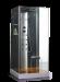 Цены на Душевая кабина Wasserfalle W - 6002А Габариты 90х90х210 смНизкий поддон 15 смГидромассаж спины Верхний душ Ручной душ Аксессуары (полки,   сиденье,   деревянная вставка в поддон) Стальной профиль,   хром Стекла 6 мм,   аллюминиевая центральная панель Ручное управле