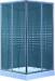 Цены на Timo VIVA LUX TL - 9002 fabric glass душевой угол 900x900x2000 Акриловый квадратный поддон с сифоном и усиленным каркасом Анодированный,   алюминиевый,   хромированный профиль. Закалённое ударопрочное стекло толщиной 6 мм (прозрачное с рисунком или матовое) Дво