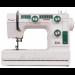 Цены на JANOME Швейная машина Janome LE 22 LE 22 Современная,   снабженная удобной ручкой для переноски,   швейная машина Janome LE 22 ориентирована на использование в мастерских и в домашнем рукоделии. Вертикальный челнок и электропривод здесь дополнены ре
