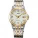 Цены на Наручные часы Orient FUNF5002W FUNF5002W0 Кварцевые часы. 12 - ти часовой формат времени. Отображение даты: число. Диаметр 33 мм
