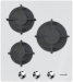 Цены на Foster Газовая варочная поверхность Foster 7030142