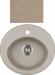 Цены на Kuppersberg Кухонная мойка Kuppersberg CAPRI 1B SAND B Внешние размеры 500 x 470 x 210 Размеры чаши 403 х 317 База встраивания 45 см Материал Kuppersberg Rok Цвет бежевый Материал Гранит