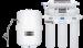 Цены на Новая Вода Новая Вода Praktic OU510  6 ст. очистки;  Тип корпуса: Стандарт 10SL;  Универсальные картриджи;  Подходит для: любой воды;