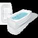 Цены на Bach Акриловая ванна Bach Джени 190*110 13331 - 01 280967   Прямоугольная акриловая ванна Bach Джени 190*110 см для ванной комнаты. Самая большая ванна в коллекции среди прямоугольных ванн Bach. Особенности ванны Bach: Прямоугольная ванна Бел
