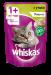 Цены на Whiskas паштет с уткой конс. пауч 85г Предложите своей кошке Whiskas мясной паштет,   чтобы она получала не только удовольствие,   но и полноценный рацион. В его состав входят все питательные вещества,   витамины и минералы,   необходимые для сбалансированного пи