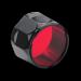 Цены на Фильтр Fenix AD302 - R красный для серии TK Красный светофильтр Fenix AD302 - R предназначен для использования с фонарями серии TK. Это качественная и компактная насадка,   которая в считанные секунды предоставит пользователю тактического фонаря доступ к яркому
