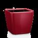 Цены на Кашпо Квадро 35 LS Ярко - красное с системой автополива и съемным горшком LECHUZA