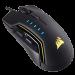 Цены на Corsair Corsair GLAIVE RGB Black Стильная черная игровая мышь Corsair GLAIVE RGB Black отличается красивым дизайном,   настраиваемым подсвечиванием и присутствием дополнительных функций.