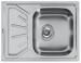 Цены на Smeg Кухонная мойка Smeg LMEL65S О модели Мойка Smeg LMEL65S из нержавеющей стали. Чаша справа. Параметры монтаж врезная материал нержавеющая сталь толщина стали,   мм 0,  6 ширина шкафа 45 размеры 65 х 50 размер чаши 34 х 40 х 16 примечание все размеры в см