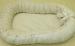 """Цены на Балу Позиционер для сна Балу Ватрушка кремовый вельбоа ш100/ 2 Подушка """" Ватрушка""""   -  для малышей от рождения;   -  внешняя сторона  -  вельбоа,   внутренняя  -  интерлок;   -  наполнитель: холлофайбер,   синтепух;   -  размер 85х45см.,   высота борта 15см.;   -  регули"""