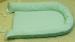 """Цены на Балу Позиционер для сна Балу Ватрушка голубой вельбоа ш100/ 2 Подушка """" Ватрушка""""   -  для малышей от рождения;   -  внешняя сторона  -  вельбоа,   внутренняя  -  интерлок;   -  наполнитель: холлофайбер,   синтепух;   -  размер 85х45см.,   высота борта 15см.;   -  регулир"""