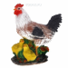 Цены на Фигура декоративная садовая Курица с цыплятами,   L16 W27.5 H34 см